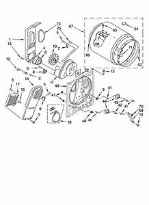 Bulkhead Parts Diagram  U0026 Parts List For Model Res7745pq0