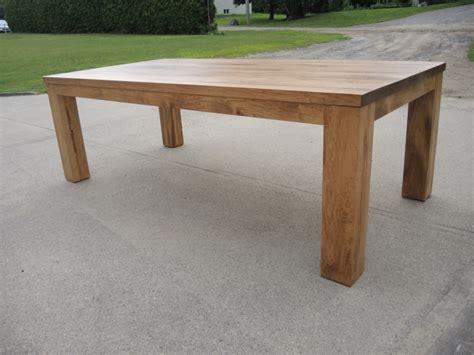table cuisine bois table de cuisine moderne en bois atelier meuble rustique