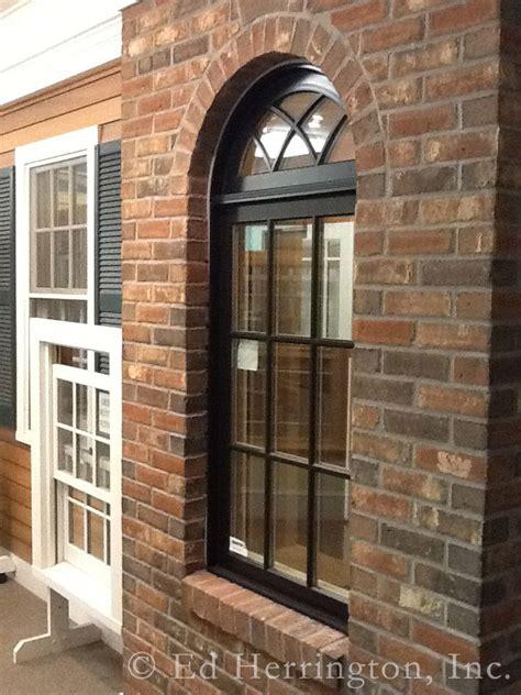 marvin ultimate ebony clad casement window  gothic   windows exterior windows