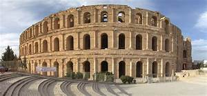 The Amphitheatre of El Jem/ The Roman Empire