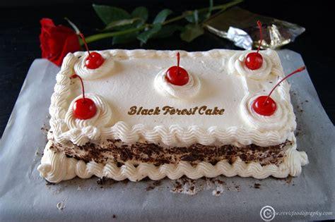 eggless black forest cake eggless cake recipe