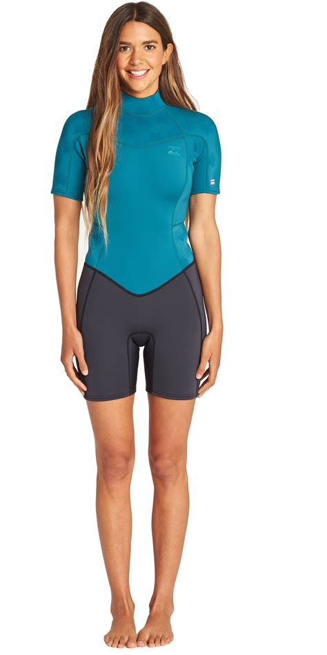 Billabong Womens Synergy 2mm Shorty Wetsuit 2019 - Sorted ...