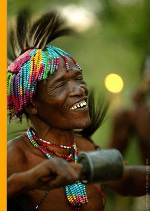 man playing handmade instrument botswana bing images