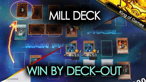 yu gi oh duel links king of games mill deck youtube