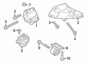 2015 Land Rover Lr4 Mount  Bracket  Engine   Front