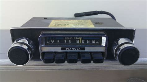 Pianola Vintage Car Radio, Type Sr-2201