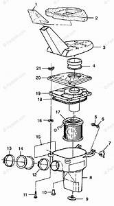 Polaris Atv 1998 Oem Parts Diagram For Air Box Xplorer