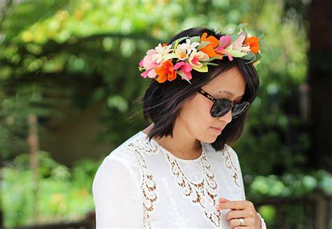 diy paper flower crown honestly wtf