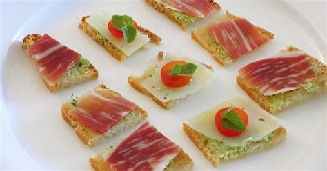 bread canape recipes samurai viking cuisine sourdough bread canapés