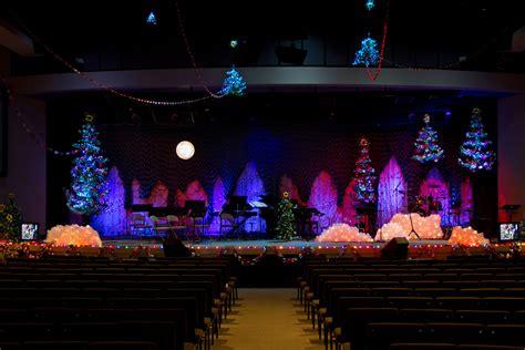 paper christmas stage design ideas pinterest