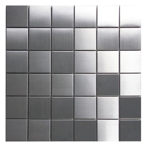 stainless steel tile stainless steel mosaic tile 2x2 for backsplashes showers