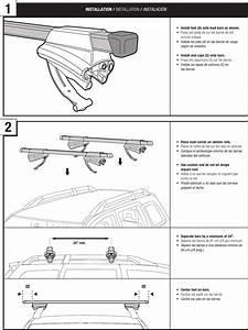 Thule Crossroad Railing Foot 450 Users Manual 501 6883 02