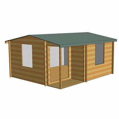 Ringwood Cabin 14x16 Log Shire Office
