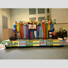 Vbs Stage Idea  Maybe Bible Study Room?? Like Game Show Stage Background Using Cheap Plastic