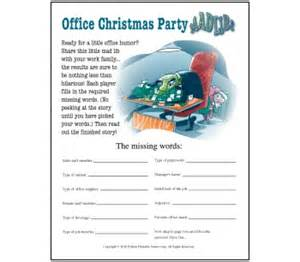 4 best images of office mad libs printable funny office mad libs christmas party mad libs