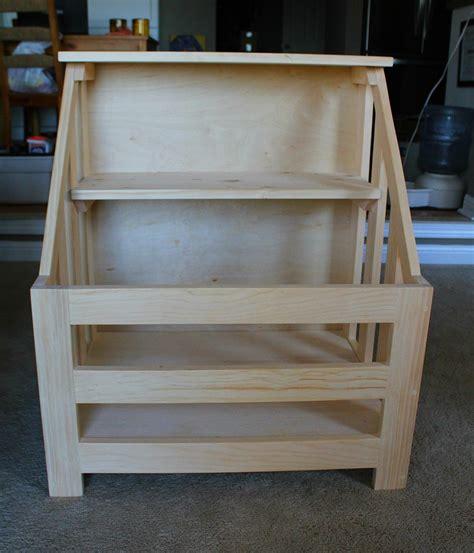 Bookcase Toybox by White Kendra Storage Console Aka Bookshelf Toybox