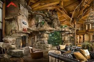 Beautiful Small Homes Interiors Lodge Style Living Rocky Mountain Homes