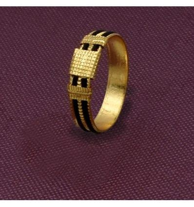 gold plated elephant tail model fiber ring   rings