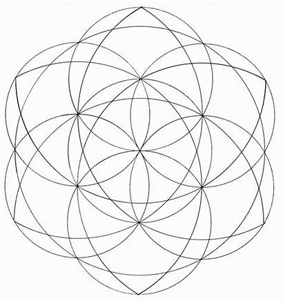 Sacred Geometry Coloring Pages Azcoloring Circle Library