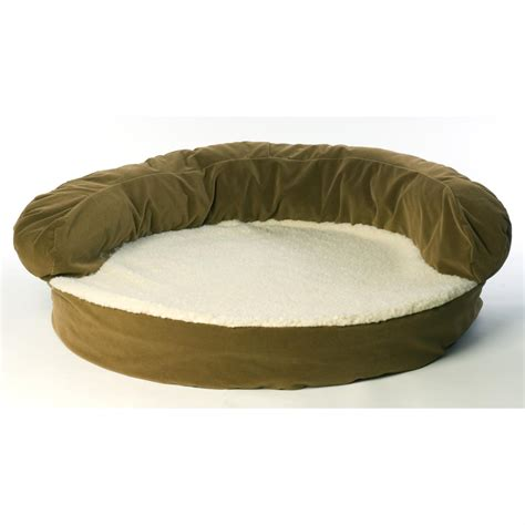 orthopedic bolster bed carolina pet co 174 ortho sleeper bolster bed 138523