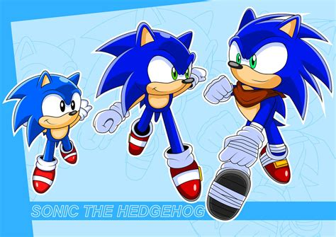 sonic classic modern and boom by arung98 on deviantart