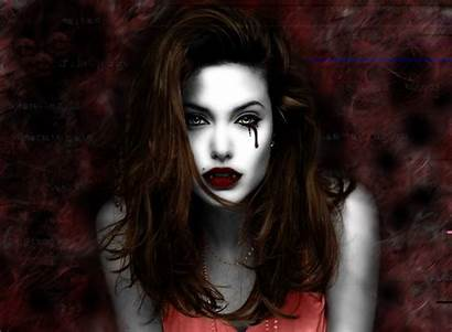 Vampire Wallpapers Gothic Fantasy Female Background Hairstyle