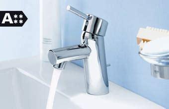 grohe waterbesparende kranen waterbesparende producten