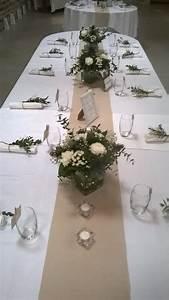Centre De Table Champetre : centre de table romantique mariage champ tre chic art ~ Melissatoandfro.com Idées de Décoration