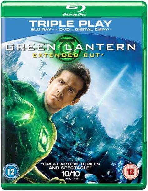 Green Lantern  Extended Cut (includes Dvd Version) Bluray Zavvi