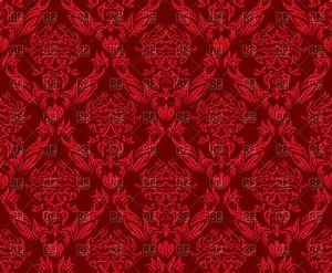 Dark red seamless old wallpaper pattern Royalty Free ...