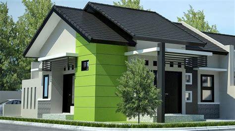 contoh warna cat dinding depan teras rumah minimalis