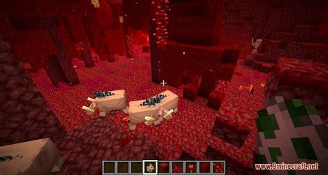 minecraft  snapshot wa netherite hoglin mob