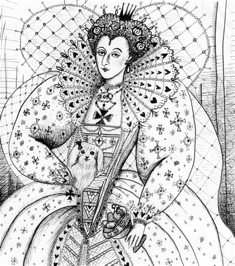 How To Draw Queen Elizabeth 1st Facts