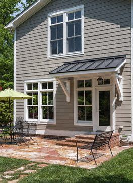 shed overhang  match  house awnings awning  door door overhang