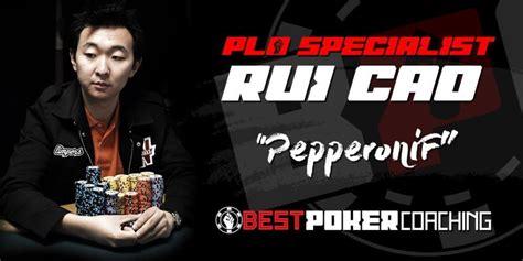 Meet Plo Specialist Rui Cao Aka Pepperonif • Best Poker