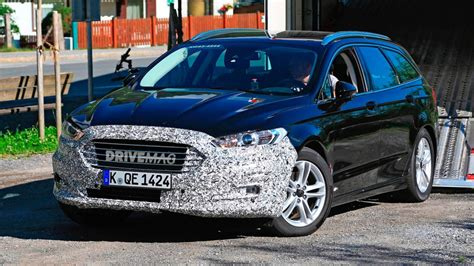 We Spy The Facelifted 2019 Ford Mondeo