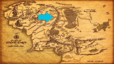 map  middle earth  fairytale traveler