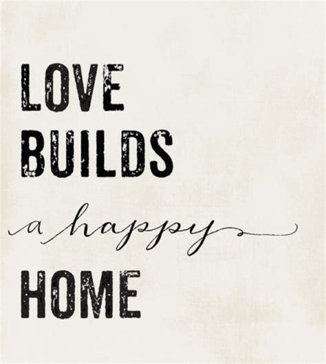 quotes love family home
