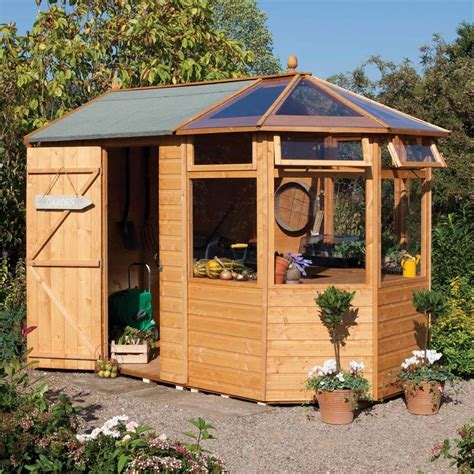 garden potting shed plans greenhouse she shed 22 awesome diy kit ideas