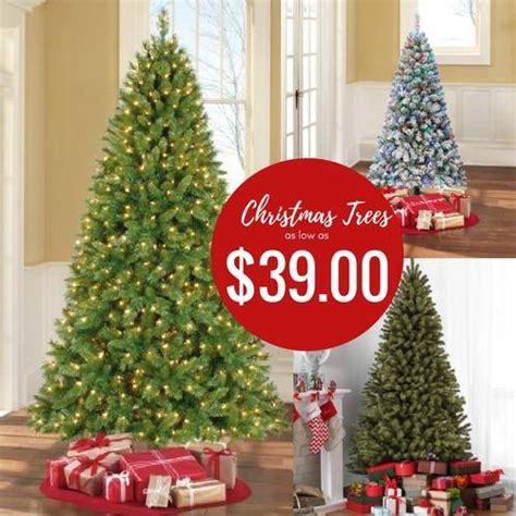 christmas tree on sale black friday walmart trees on sale best deals cheap pre lit trees