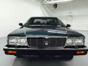 auto air conditioning repair 1986 maserati quattroporte on board diagnostic system 1986 maserati quattroporte iii collector owned only 30k miles well maintained for sale photos