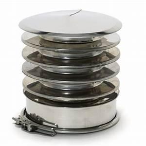 Chapeau Inox Pour Tubage : chapeau anti refoulement double paroi r novation 100 150 ~ Edinachiropracticcenter.com Idées de Décoration