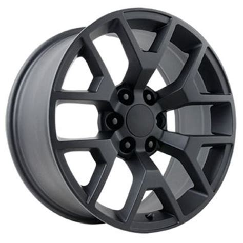 oe replicas wheels 2014 in 20x9 quot gmc 2014 style oe 5656 replica matte black
