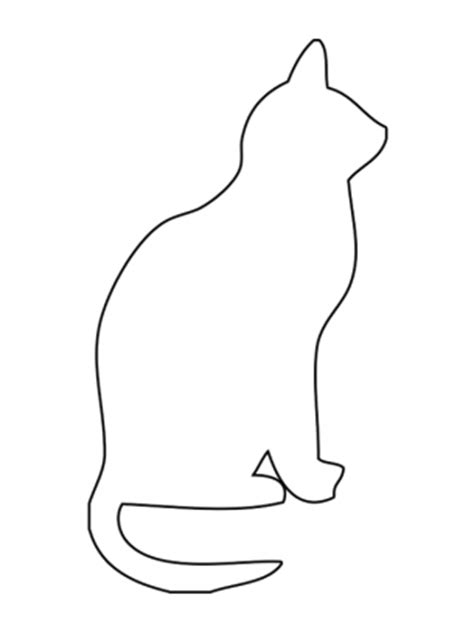 Cat Template Cat Activities Template Dieren Templates