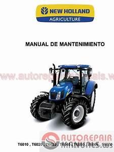 Auto Repair Manuals  New Holland Full Shop Manual Dvd