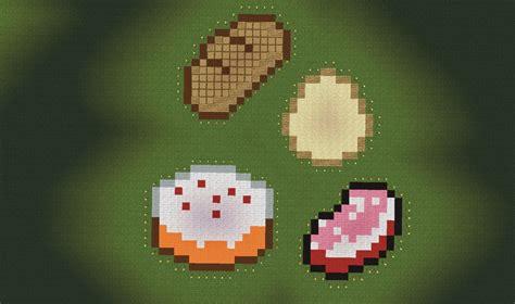 minecraft cuisine minecraft food pixel kaunas map picture