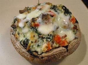 Spinach & Ricotta Stuffed Portobello Mushrooms Recipe ...