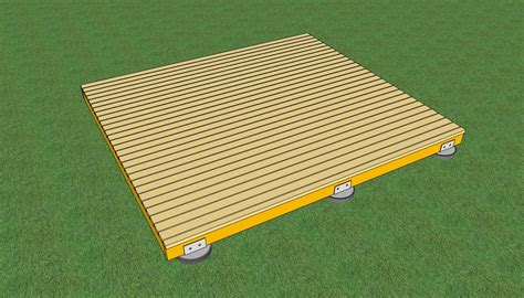 Marvelous Building A Deck On The Ground 3 How To Build