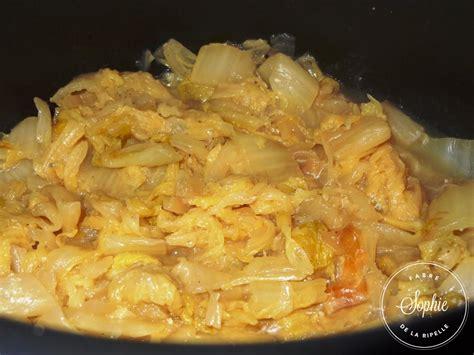 un chinois en cuisine chou chinois braisé la tendresse en cuisine