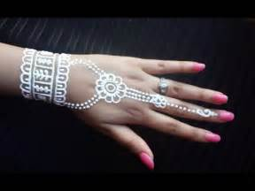White Henna Designs Easy